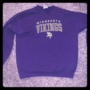 Rare Vintage Minnesota Vikings crew neck